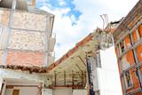 City of L'Aquila, Earthquake effects, Abruzzo Italy