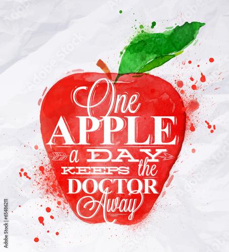 plakat-owocowy-czerwony-jablkowy
