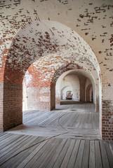 Arches in a Civil War Era Fort