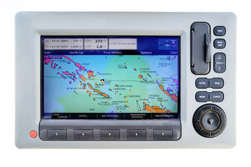Gps device on sailboat