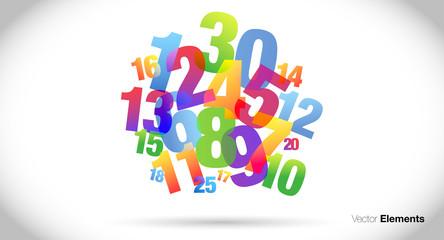 nuvola di numeri, confusione, burocrazia