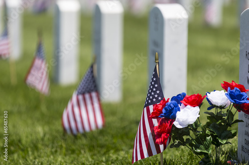 Foto op Plexiglas Begraafplaats Memorial Day