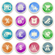 Finance color icons.