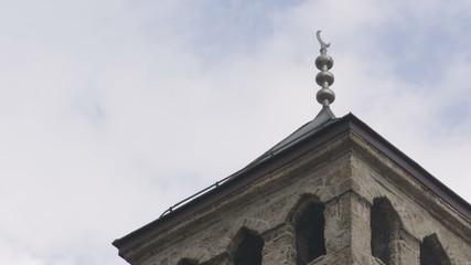 Old watch tower near Gazi Husrev mosque