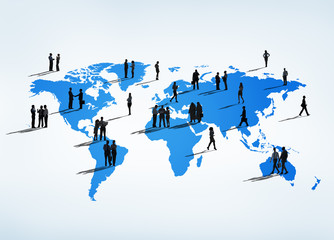 Business People all over the World