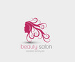 Symbol of beauty salon, isolated vector design
