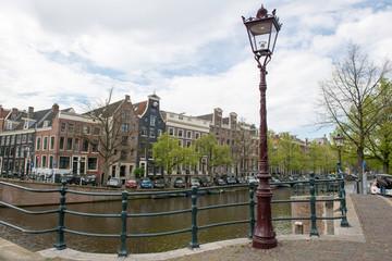 Dans les rues d'Amsterdam