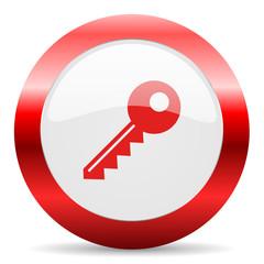 key glossy web icon