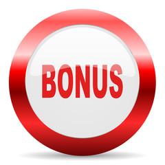 bonus glossy web icon