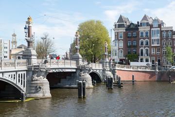 Promenade dans les rues d'Amsterdam
