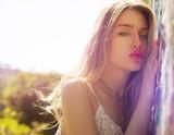 Fototapety blonde beauty