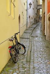 Altstadtgasse in Passau