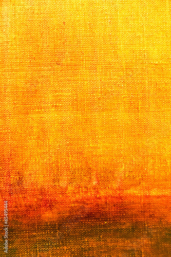 Art abstract painted background in red and yellow colors