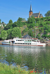 der beliebte Erholungsort Saarburg