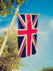 Retro look UK Flag