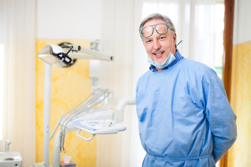 Dentist portrait