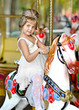 portrait of a little girl princess
