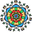 Round Ornamental design element