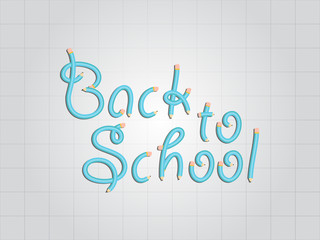 Back to School Pencil design