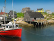 peggy's cove harbour scene - 65503010