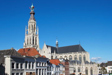 Church of Breda in the province of Brabant, Netherlands