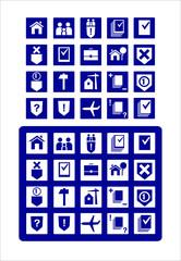 Значки юридические услуги, иконки, Icons legal services