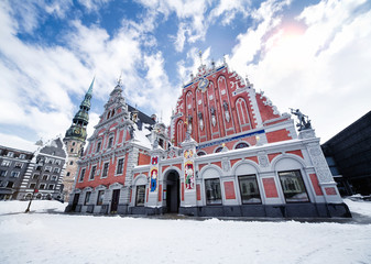 House of the Blackheads in Riga