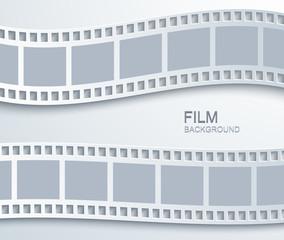 Vector modern film background.