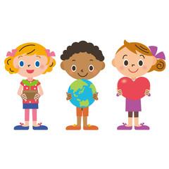 平和、環境、自然を伝える子供達