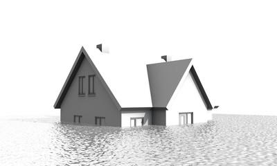 Huis en hypotheek onder water