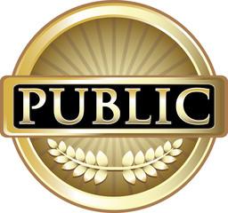 Public Gold Label