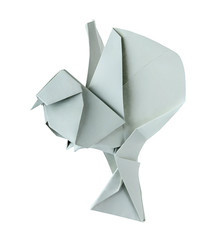 Origami dove