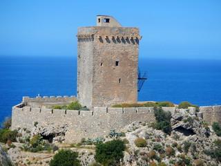 Altavilla Milicia - Particolare su Torre Normanna