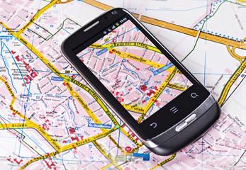 Navigation mit dem Smartphone