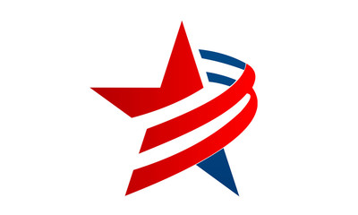 american star icon and logo