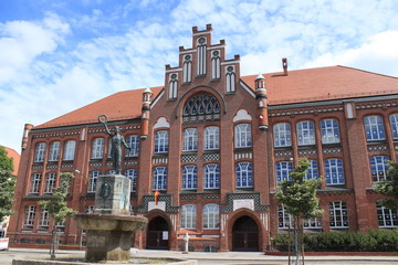 Jahnschule in Wittenberge`s Gründerzeitviertel