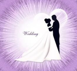 Свадьба. Жених и невеста