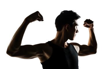 Asian healthy muscular