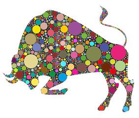 toro composta da colori