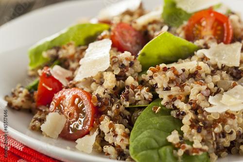 Healthy Vegetarian Quinoa Salad - 65517646