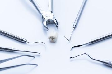 Dentist checkup control basic cutlery