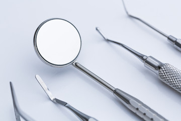 Dentist dental instruments
