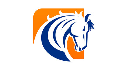 horse icon and logo