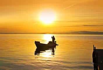 el pescador y el sol