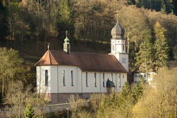 Triberg, Germany, church
