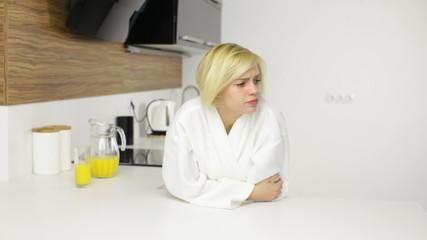 Woman sad problem, depressed girl