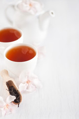 Oolong tea background