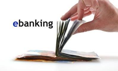 ebanking Geld Hand