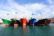 barcos de pesca amarrados getaria país vasco 4474-f14 - 65520610