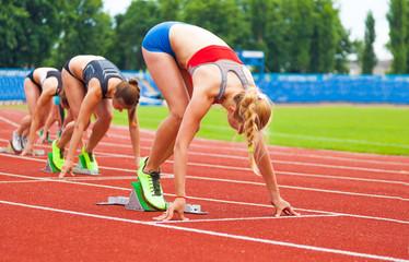 starting of women's race